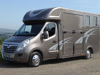 AV Bodies Commercial Vehicle Bodybuilders  Horsebox Grey